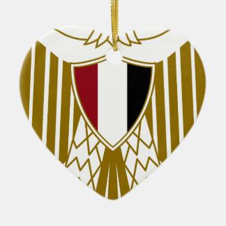 エジプトの紋章付き外衣 セラミックオーナメント