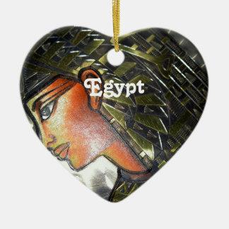 エジプトの芸術 セラミックオーナメント