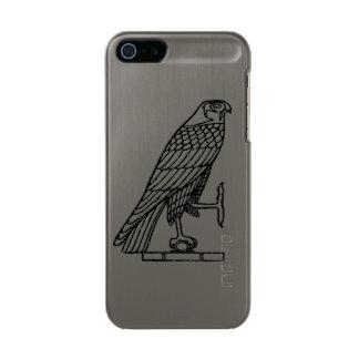 エジプトの記号: 《鳥》ハヤブサ メタリックiPhone SE/5/5sケース