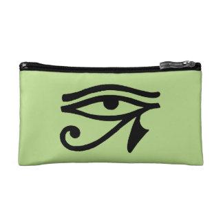 エジプトの記号: Wedjat コスメティックバッグ