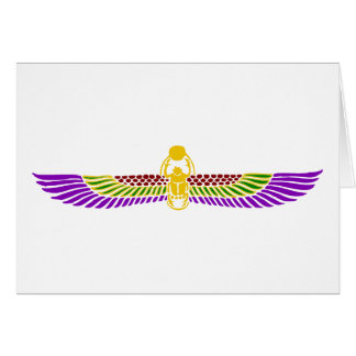エジプトの誕生日のパーティの招待状Notecard カード