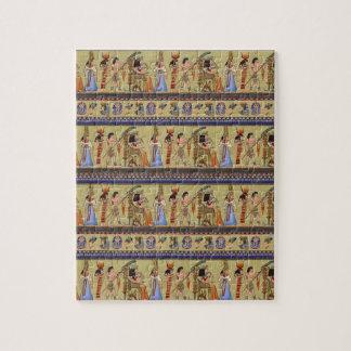 エジプトの象形文字のパズル ジグソーパズル