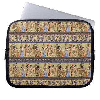 """エジプトの象形文字10""""電子工学の袖 ラップトップスリーブ"""