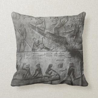 エジプトの象形文字 クッション