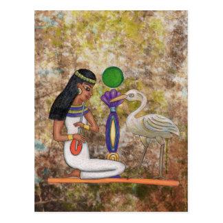 エジプトの郵便はがき ポストカード