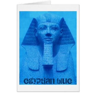 エジプトの青 カード