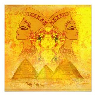 エジプトのCleopatra女王の写真の拡大 フォトプリント