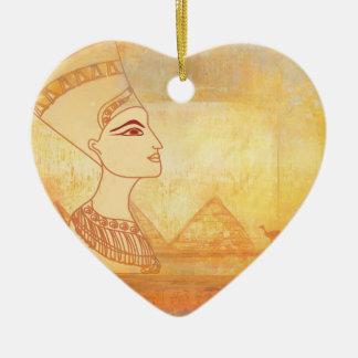 エジプトのCleopatra女王の装飾 セラミックオーナメント