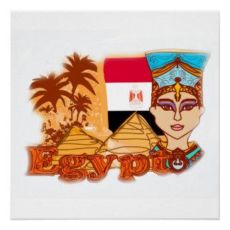 エジプトのcleopatra女王ポスター ポスター