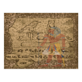 エジプトのHieroglyphic ポストカード