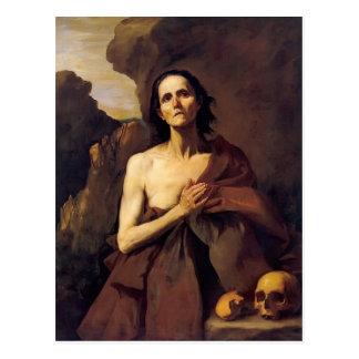エジプトのJusepe de Ribera- St Mary ポストカード