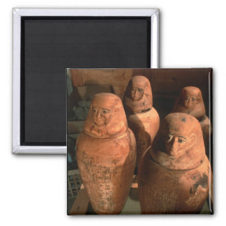 エジプトはAbuで、第26王朝のカノプス壺見つけました マグネット