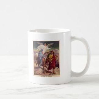 エジプトへの彼の方法のベビーイエス・キリスト コーヒーマグカップ