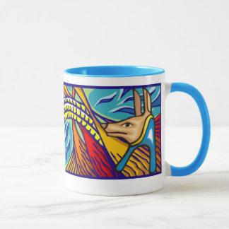 エジプト人のAnubisのマグ マグカップ