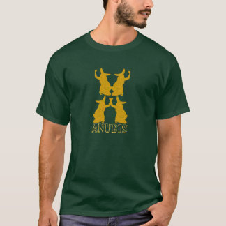 エジプト人のAnubisの古代ワイシャツ Tシャツ