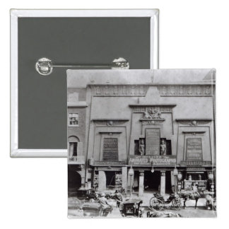エジプト人ホール、Piccadilly 1895年 5.1cm 正方形バッジ