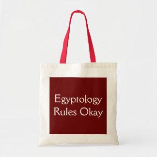 エジプト学は良く支配します トートバッグ