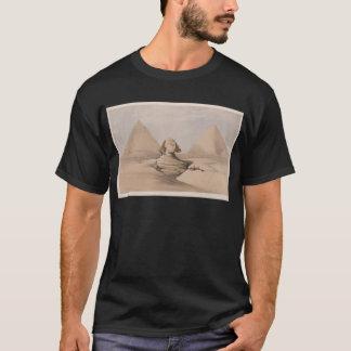 エジプト文化神、Hyroglifcs、Sphynx Tシャツ
