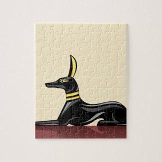 エジプト犬のベクトル ジグソーパズル