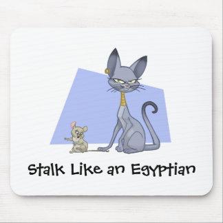 エジプト猫のマウスパッド マウスパッド