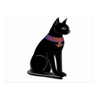 エジプト猫の女神Bastet ポストカード