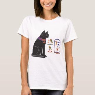 エジプト猫の女神Bastet Tシャツ