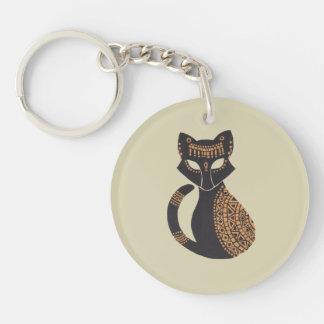 エジプト猫 キーホルダー