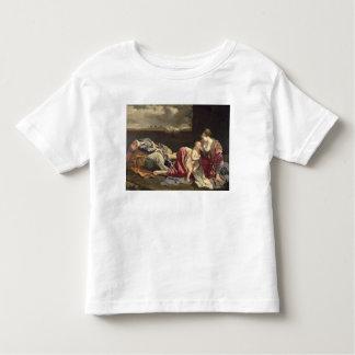 エジプト1628年への飛行の残り トドラーTシャツ