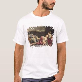エジプト1628年への飛行の残り Tシャツ