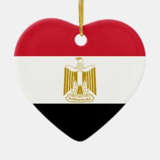 エジプト- علممصر -の旗エジプトの旗 セラミックオーナメント