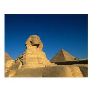 エジプト、ギーザのスフィンクス、古い王国、ユネスコ ポストカード
