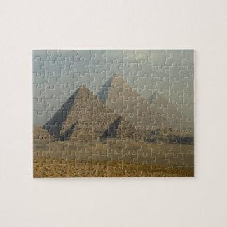 エジプト、ギーザ、ギーザのピラミッドの複合体、ギーザのプラトー ジグソーパズル