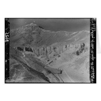 エジプト。 王c.1936の墓の谷 カード