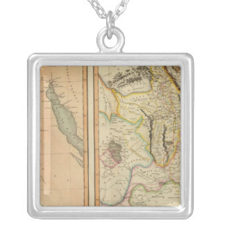 エジプト、Abyssinia シルバープレートネックレス