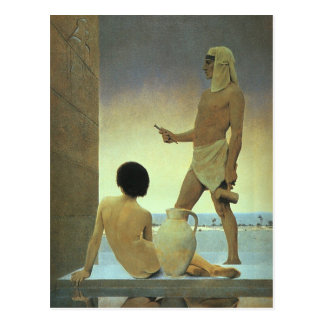 Egypt, Maxfield Parrish)