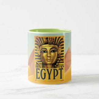 エジプト- Tutankhamun ツートーンマグカップ