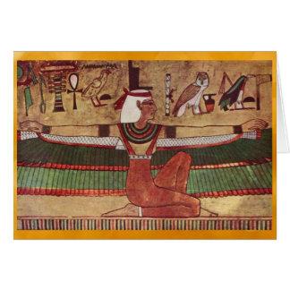 エジプトIsisの挨拶状 カード
