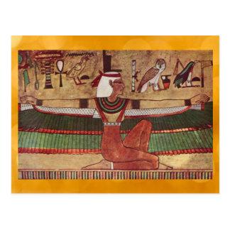 エジプトIsisの郵便はがき ポストカード