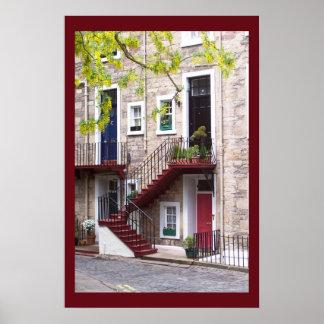 エジンバラのドア ポスター