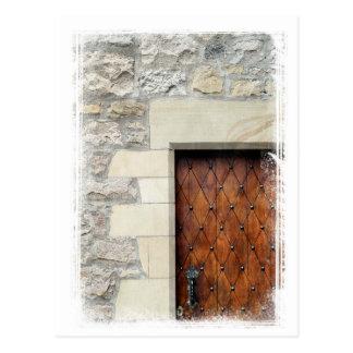 エジンバラのドア ポストカード