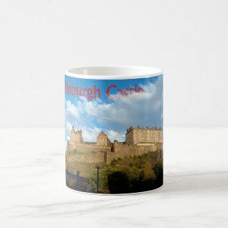 エジンバラの城のマグ コーヒーマグカップ