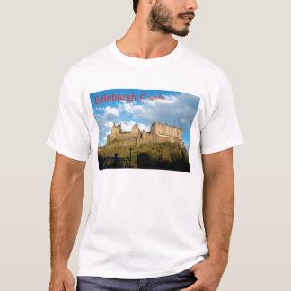 エジンバラの城のワイシャツ Tシャツ