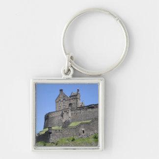 エジンバラの城、エジンバラ、スコットランドの眺め、 キーホルダー