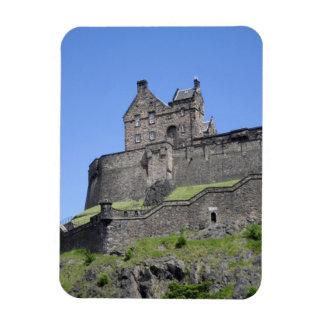 エジンバラの城、エジンバラ、スコットランドの眺め、 マグネット
