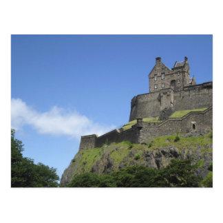 エジンバラの城、エジンバラ、スコットランド、2の眺め ポストカード