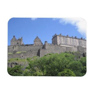 エジンバラの城、エジンバラ、スコットランド、3の眺め マグネット