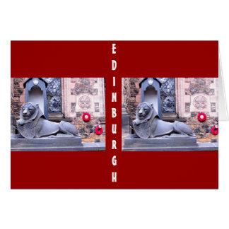 エジンバラの城 カード