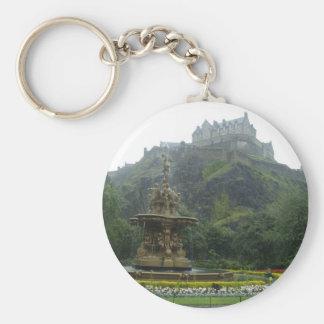 エジンバラの城 キーホルダー