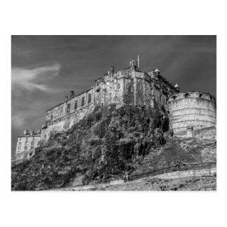 エジンバラの城、スコットランド ポストカード