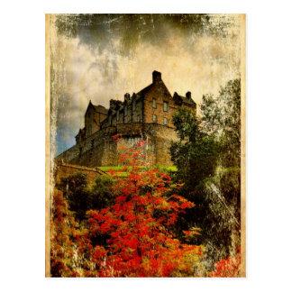 エジンバラの城 ポストカード